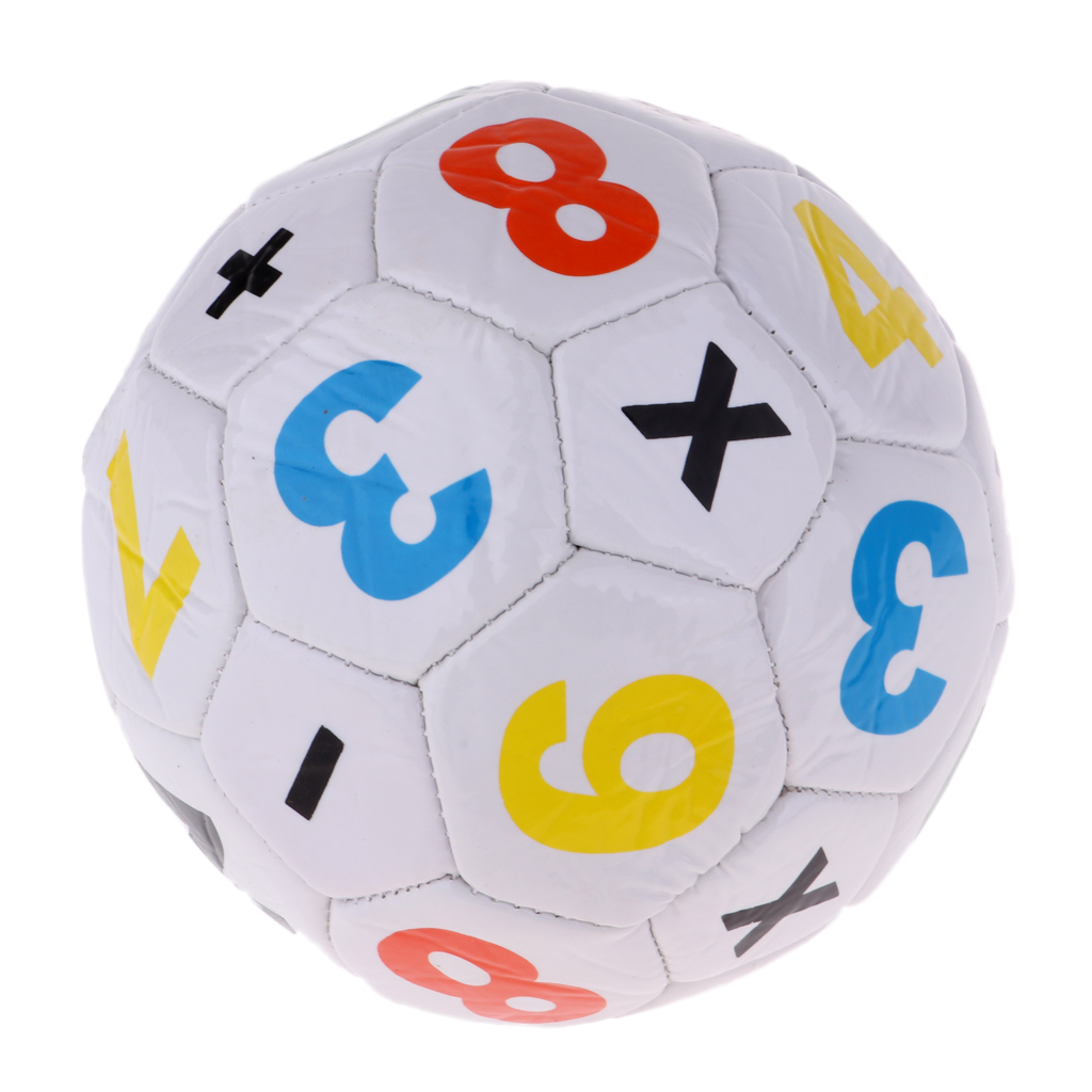 Mini Official Size 2 Kids Football Soccer Ball & Mesh Storage Bag, Inflating Pump Needle For Unisex Boys Girls