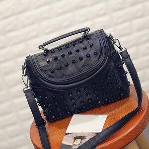 Image 5 - 2019 luxus Frauen Aus Echtem Leder Tasche Schaffell Messenger Taschen Handtaschen Berühmte Marken Designer Weiblichen Handtasche Schulter Tasche Sac