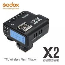 Godox X2 X2T-C X2T-N X2T-S X2T-F X2T-O X2T-P TTL 1/8000s HSS беспроводной триггер вспышки для Canon Nikon Sony Fuji Olympus Pentax