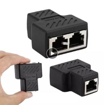 1 do 2 sposobów złącze sieciowe kabel sieciowy żeński dystrybutor sieć Ethernet rozdzielacz RJ45 przedłużacz przejściówka Adapter C do laptopa tanie i dobre opinie Skatolly CN (pochodzenie) Adapter kabla NONE Dostępny w magazynie WL38698 42 * 35 * 20mm Polyethylene (LDPE) PVC insulation