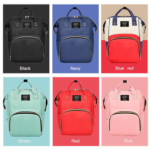 Image 5 - Large Capacity Mummy Maternity Nappy Bag Outdoor Moms Backpack Nursing Bag Mummy Travel Backpack Zippers Baby Care Bag