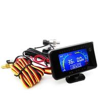 12v/24v Auto Lkw LCD Digital Display 3 in 1 Wasser Temperatur/Öl Druck/Spannung messgeräte