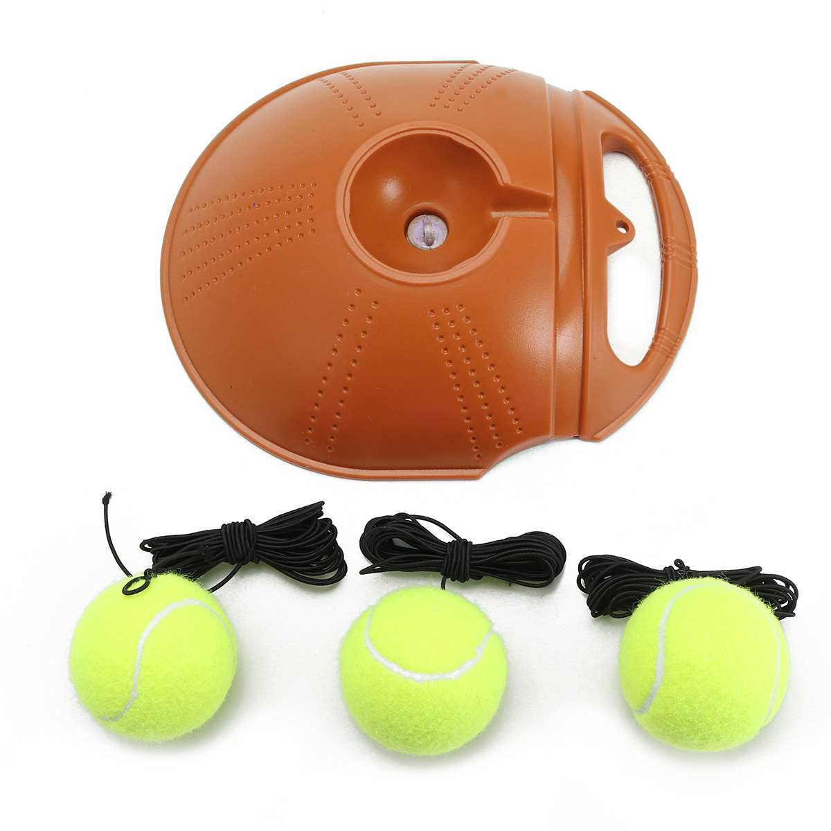 Tennis Trainer and Self-study Tennis Training Tool with Rebound Balls and Baseboard 11