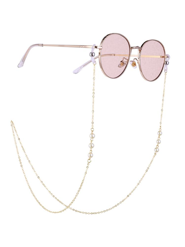 Fashion Reading Glasses Chain for Women Metal Sunglasses Cords 70CM Eyeglass Chains Lanyard Hold Straps