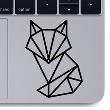 Geometric Fox vinyl decal car computer laptop Decoration animal geometric fox decals Removable Office Computer Sticker X156 cheap DIYWEIYUE Plane Wall Sticker Modern For Refrigerator For Smoke Exhaust For Cabinet Stove For Tile For Wall Furniture Stickers