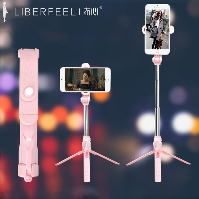 Liberfeel Maoxin 3 in 1 bluetooth selfie stick with tripod for iPhone 11 Pro Samsung S10 Huawei Xiaomi Extendable Selfie Stick