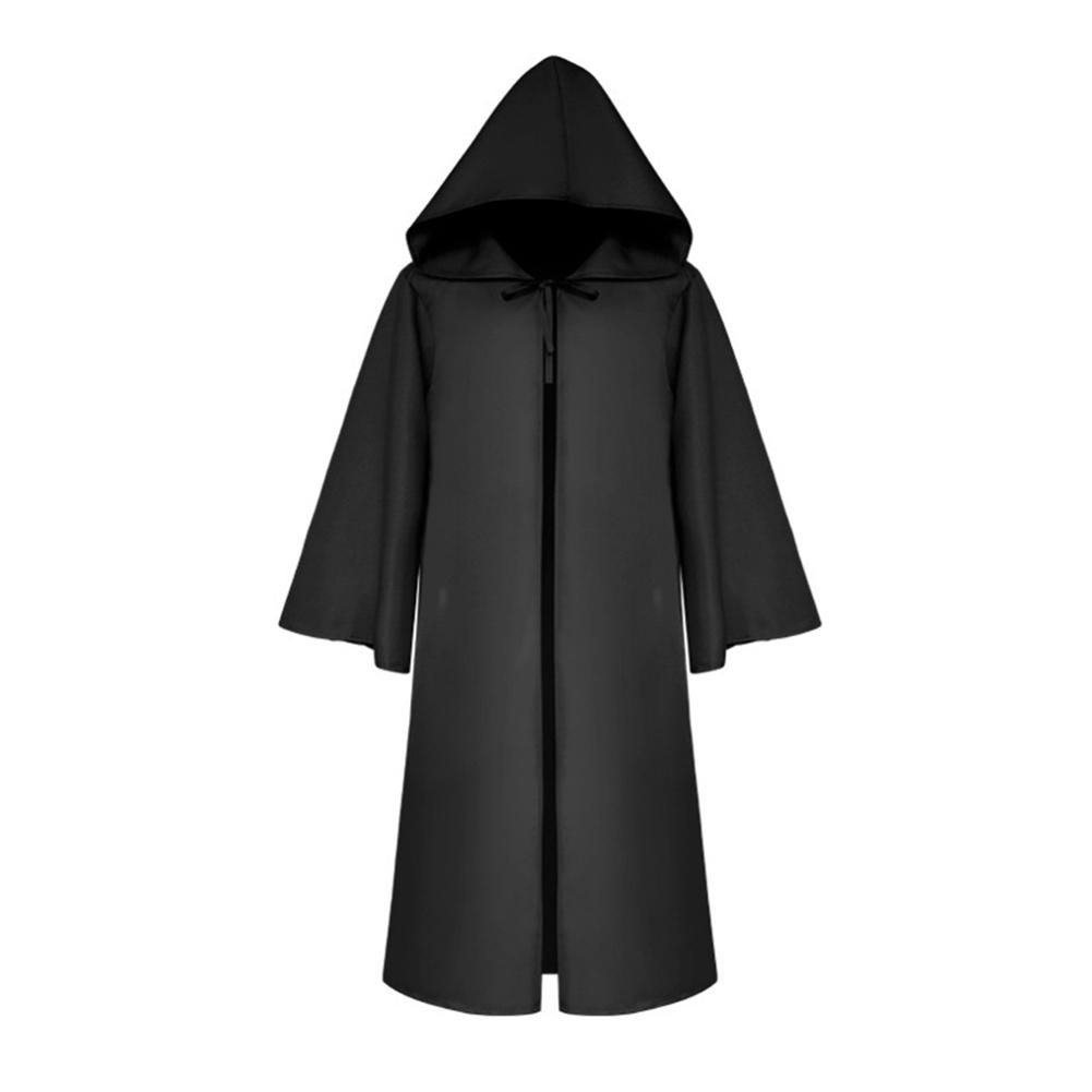 Halloween Decoration  Arrival Adult Kids Solid Color Hooded Witch Vampires Cape Halloween Masquerade Cloak For Halloween