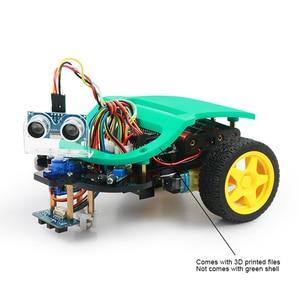 Image 3 - חכם רובוט רכב Starter Kit לarduino R3 עם הדרכה, תמיכת iOS/אנדרואיד, Ps2, wiFi IR בקרת לarduino Diy קיט
