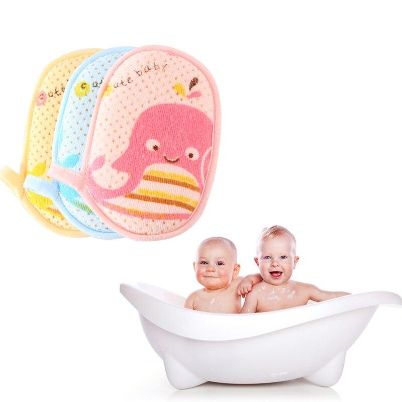 Sponge Baby Shampoo Glove Animals Baby Bath Sponge Cotton Brush Kids Bath Glove Baby Bathing Skin Care Infant Bath Accessories