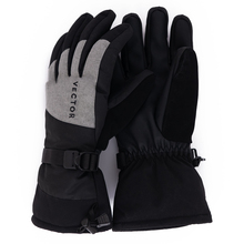 Сверхтолстые теплые водонепроницаемые лыжные флисовые перчатки, ветрозащитные зимние перчатки для активного отдыха, сноуборда, снегохода, езды на мотоцикле, Нескользящие