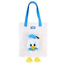 Disney Fashion Donald Duck Cartoon Bag Plush Shoulder Bag Women Tote Bag Girl Handbag Festival Gifts