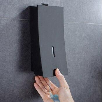Gran oferta 450ML dispensador de jabón líquido dispensador de jabón montado en la pared champú recipiente para Gel de Ducha