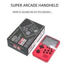 Mini Console de jeu portable M3S, avec plus de 1500 jeux intégrés, jeux vidéo rétro intelligents 16 bits, carte TF 4G, cadeau