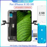 """1PC Version améliorée nouvel écran LCD de qualité OLED pour iPhone X XS XR 10 5.8 """"LCD écran numériseur assemblage réplique"""