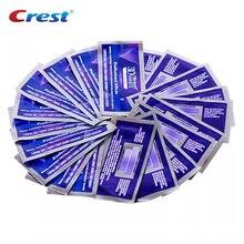 Tiras de clareamento dental, 5 bolsas 3d white estrips luxe professional branqueamento dental gel original higiene oral