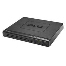 Полнопортовый dvd-плеер для ТВ Поддержка порта USB порт компактный Мульти регион DVD/SVCD/CD/диск плеер с пультом дистанционного управления, не под...