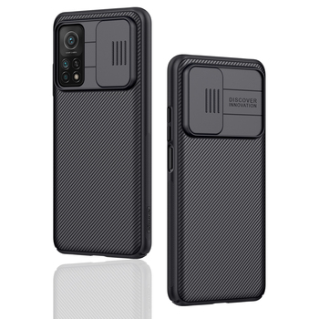 Camera Protection For Xiaomi Mi 10T Case NILLKIN Slide Back Cover Anti-scratch For Xiaomi Mi 10 / Mi10T / Mi 10T Pro 5G cases