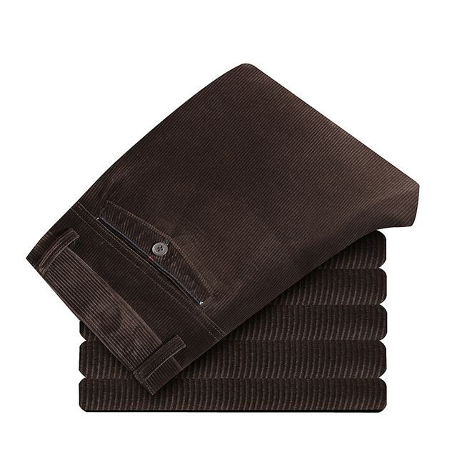 Mens Suit Pants Autumn Men Dress Pants Straight Business Casual Office Mens Winter Formal Pants Plus Size Classic Trousers Male