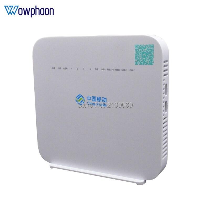 Alcatel-lucent G-140W-MF GPON ayu UT 4GE + 1Tel + Wifi 2,4G, firmware en inglés, misma función que la unidad de red óptica HS8145V gpon HUAWEI HS8145V HGU Dual banda Router 4GE + Wifi 2,4 GHz/5 GHz WiFi EPON/GPON ONU ONT FTTH modo Termina Gpon de fibra Router de red