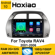 Car Multimedia Radio Player Per Toyota Rav4 2001-2006 2005 RAV 4 Android 8.1 10 2G di Navigazione GPS RDS Bluetooth Car Radio Player
