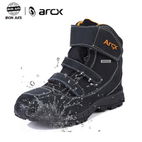 ARCX Motorcycle Boots Genuine Cow Leather Breathable Street Moto Racing Boots Motorbike Durable Waterproof Protection Shoes