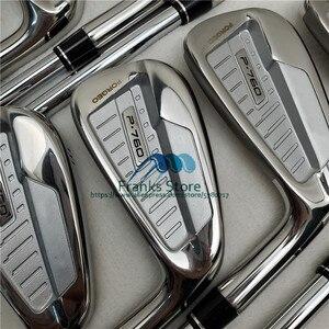 2019 New golf clubs P 760 golf clubs iron set 3-9.P (8pcs) golf irons Steel/Graphite Shaft headcover