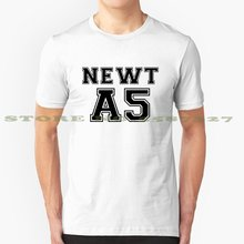 Newt, a5 verão engraçado t camisa para homem mulher newt o labirinto corredor o scorch julgamento a cura da morte tmr tst tdc