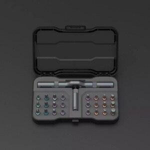 Youpin ATuMan DUKA 24 В 1 многоцелевой Трещоточный ключ Отвертка S2 магнитные Биты Набор инструментов DIY бытовой инструмент для ремонта