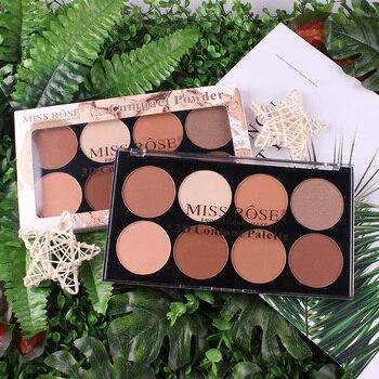 Paleta de polvo compacto corrector, Maquillaje profesional, Maquillaje Facial Focallure, paleta de Maquillaje de contorno TSLM