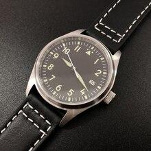 Fashion Women Men Pilot Watch Stainlss Steel Watche
