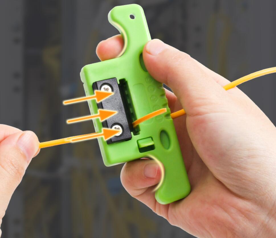 FTTH Fiber Optic Stripping  MSAT 5 Access Tool  Loose 1.9mm To 3.0mm Replaceable Blade