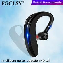 Fgclsy Bluetooth Draadloze Oortelefoon Business Handsfree Call Headset Met Microfoon Ruisonderdrukking Sport Oordopjes Voor Iphone