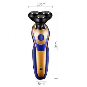 3 in 1 Rechargeable Electric Razor Men Endurance Nose Hair Trim Shaving Beard Machine Washable Lighting Electric Shavers