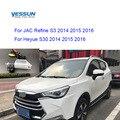 Yessun parkplatz system Rückansicht Kamera Für JAC Verfeinern S3 2014 2015 2016 Heyue S30 2014 2015 2016 licenes platte licht kamera-in Fahrzeugkamera aus Kraftfahrzeuge und Motorräder bei