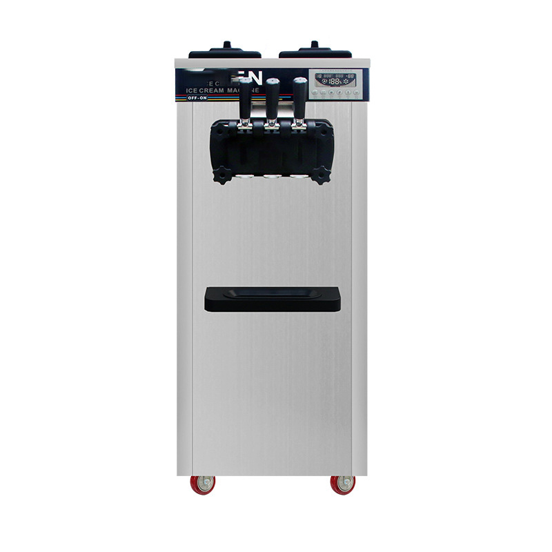 MK-618CB New Practical Multi-flavor Ice Cream Machine Commercial  Cream Machine Sundae Machine Advanced Refrigeration Technology