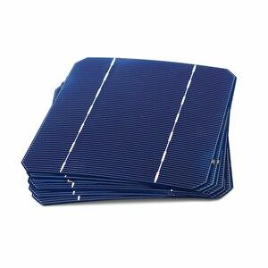 Image 3 - 10 40 50 100 Pcs 2.8 W 125 x 125MM Cheap Mono Solar Cells 5x5 Grade A monocrystalline PV DIY Photovoltaic Sunpower C60 Solar Pan