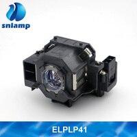 Original Compatible ELPLP41 Projector Lamp V13H010L41 bulb for S5 S6 S6+S52 S62 X5 X6 X52 X62 EX30 EX50 TW420 W6 77C EMP H283A