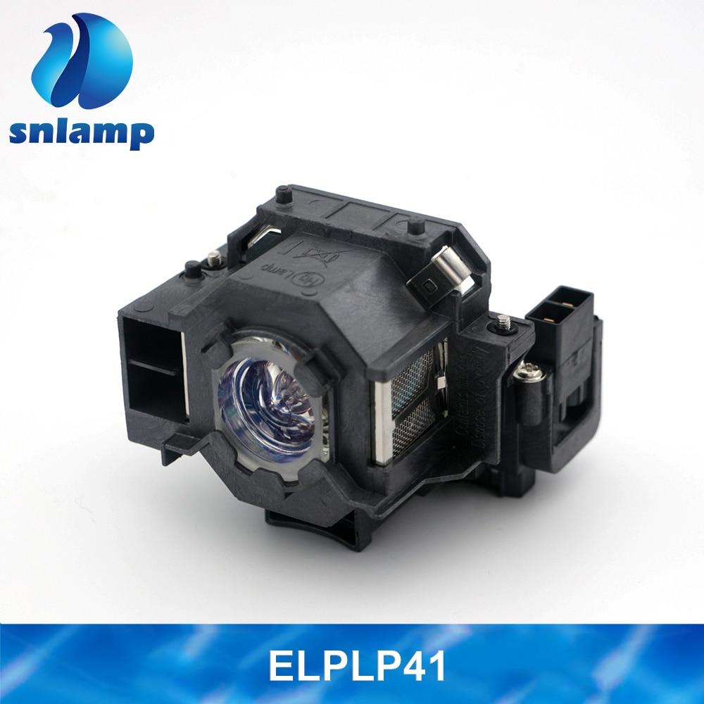 Original Compatible ELPLP41 Projector Lamp V13H010L41 Bulb For S5 S6 S6+S52 S62 X5 X6 X52 X62 EX30 EX50 TW420 W6 77C EMP-H283A