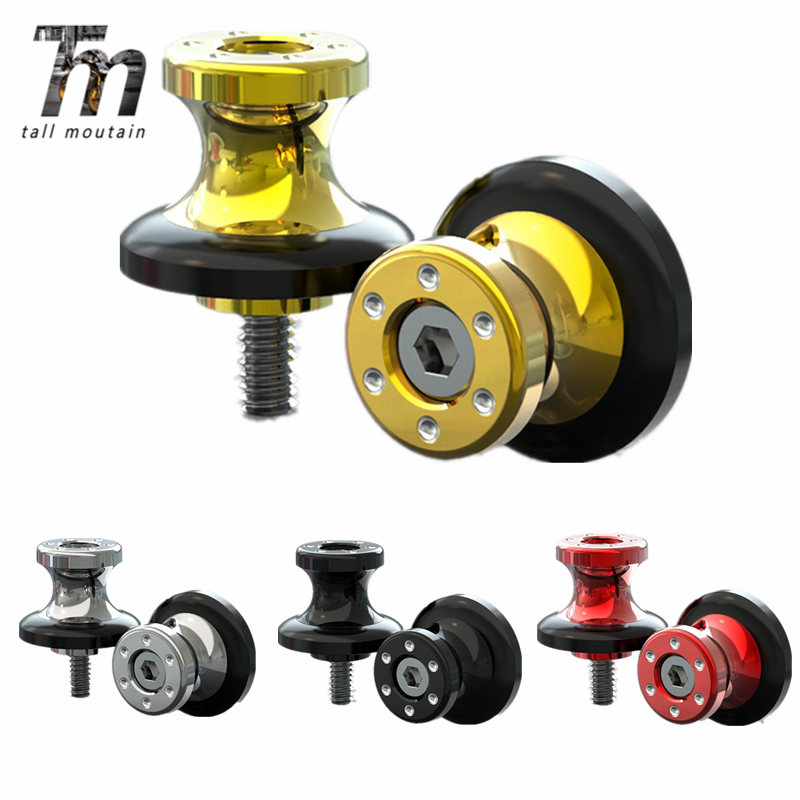 Swingarm Spools Slider For <font><b>SUZUKI</b></font> GSXR <font><b>125</b></font>/150/600/750/1000 DL 650/1000 V-Strom <font><b>GSX</b></font>-R GSXR150 GSXR125 Motorcycle Stand Screw image