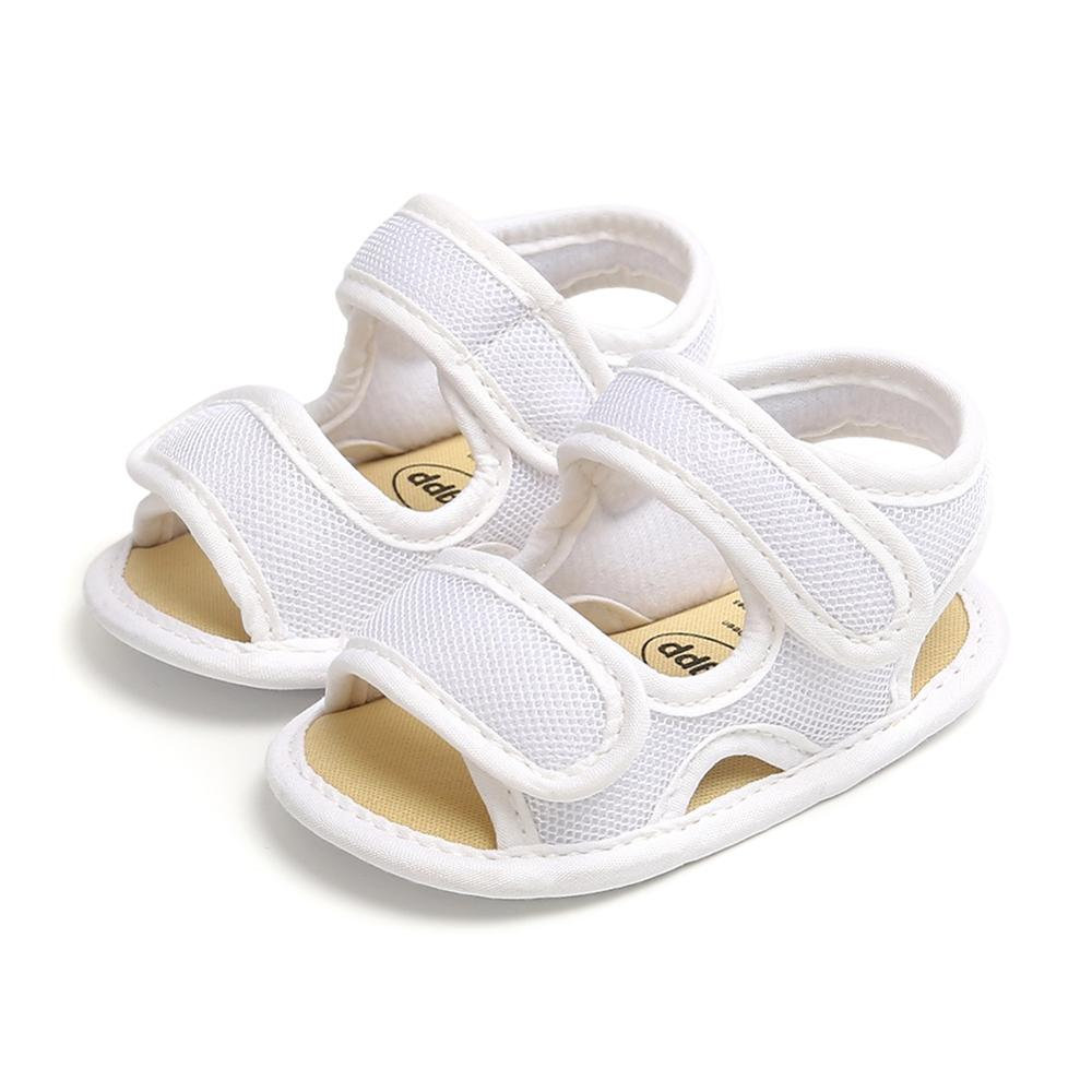 Boys Girls Summer Baby Breathable Anti-Slip Shoes Sandals Toddler Soft Soled First Walkers