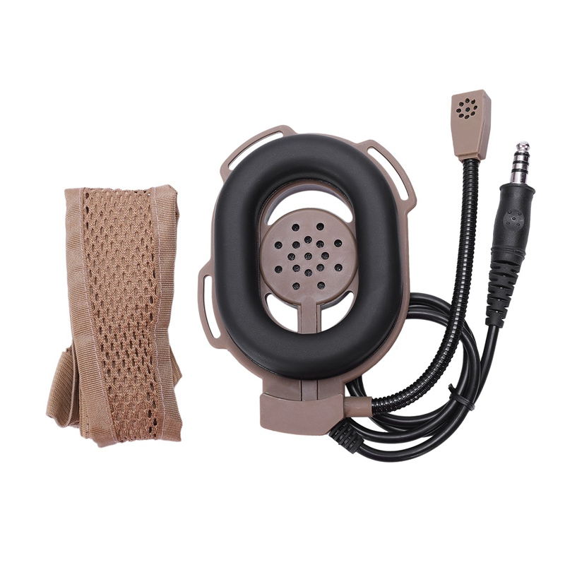 Bowman Evo Iii Heavy Headset With Tci Ptt Z029,Headphones For Kenwood Baofeng Uv-5R Gt-3 Uv82 Wouxun
