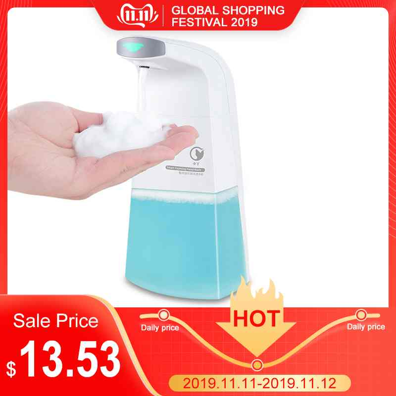 Xiaowei X1 Automatic Soap Dispensers Foaming Hand Soap Intelligent Infrared Sensor Non-contact Portable Tool Toiletry Kit
