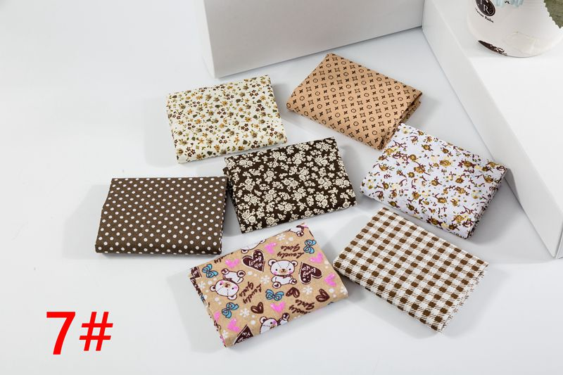 H68f5b3291082422684ca73bd9e800173d 25x25cm and 10x10cm Cotton Fabric Printed Cloth Sewing Quilting Fabrics for Patchwork Needlework DIY Handmade Accessories T7866
