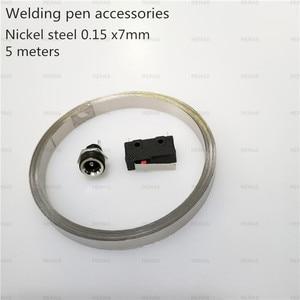 Image 5 - Integrated hand held spot welding pen Automatic trigger Built in switch one hand operation spot welder welding machine