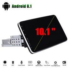 10.1 polegada android 8.1 rádio do carro multimídia jogador gps navegação 1 + 16g tela de toque wifi carro estéreo rádio fm 1 ruído 360 rotação