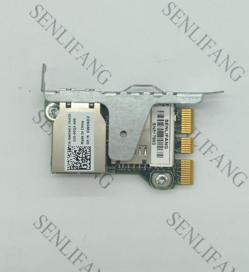 Original FOR DELL T420 R520 R420 PowerEdge IDRAC 7 Enterprise Remote Access 0WD6D2 WD6D2 CN-0WD6D2 Fully Tested