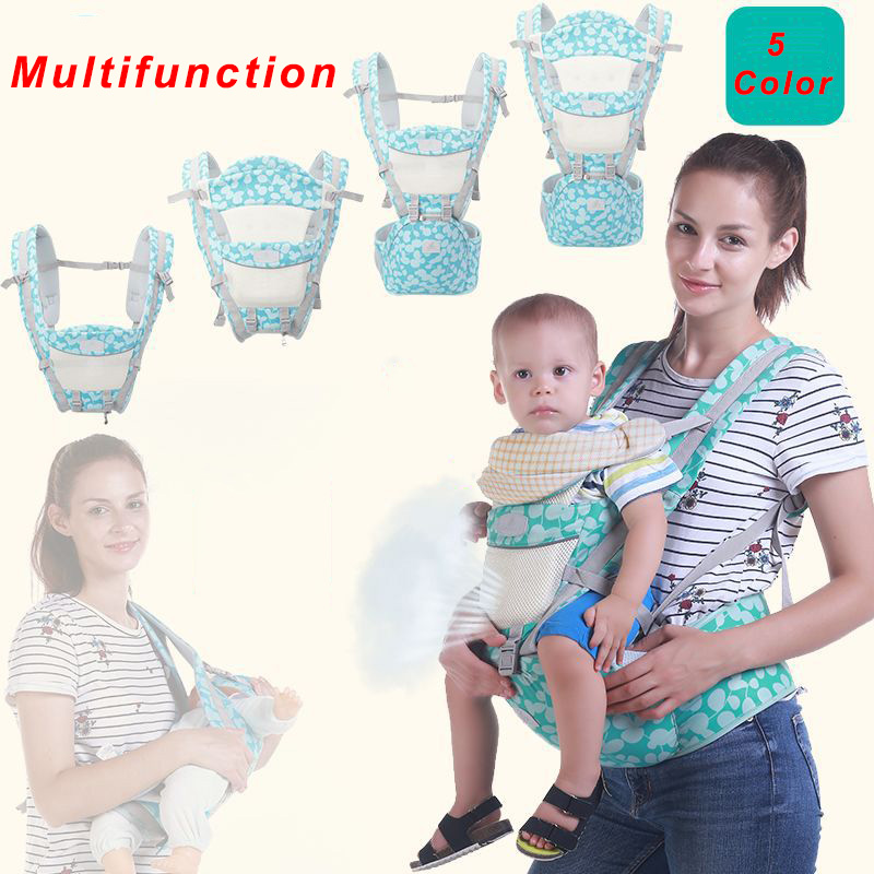 Baby Carrier Ergonomics Hipseat Breathable Portable Kangaroo Carrier Baby Backpack For Carring Children Wrap Infant Sling