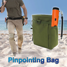 Metal Detecting Gold Finds Bag Multipurpose Digger Pouch for Pinpointing Detector Waist Pack Tools Shovel Find Bag