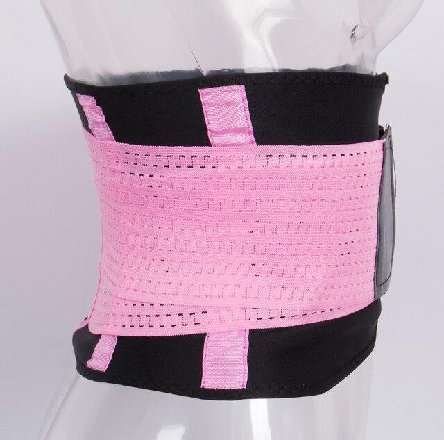 Hot Body Shapers Unisex Waist Cincher Trimmer Tummy Slimming Belt Latex Waist Trainer FitnessPostpartum Corset Plus Size Fitness 3