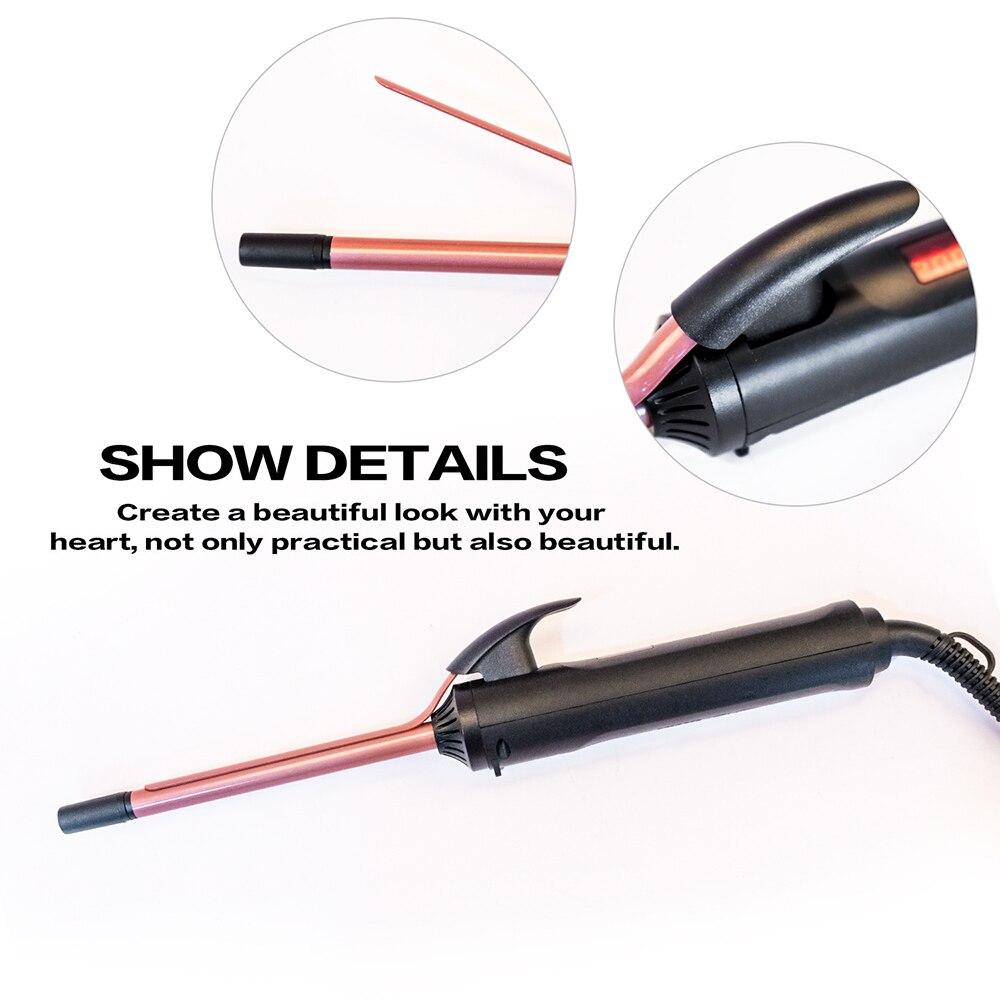 Estilo profissional Cabelo Ondas 9mm 26 milímetros